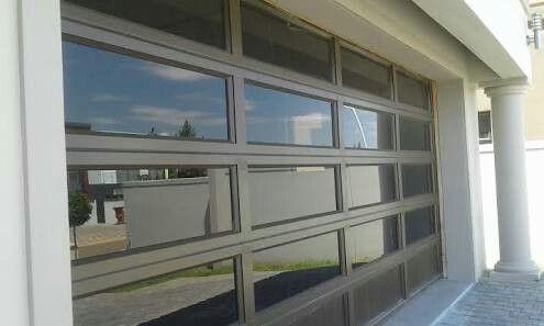 Mirror Glass Garage Gates Double Garage Door Garage Doors Modern Garage Doors