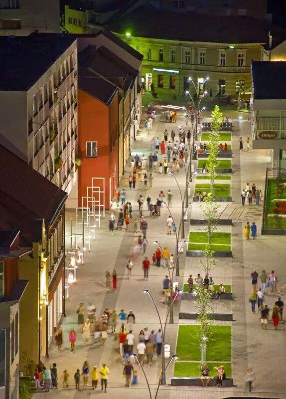 Prijedor main street | Sarajevo bosnia, Republika srpska, Bosnia