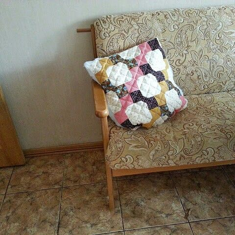 My first patchwork.  Repetition)))