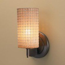 View the Bruck Lighting 100114 Up or Down Mount Wall Sconce with 75W Dimmable Transformer and Amber Glass/Wire Mesh Shade from the Sierra Collection at LightingDirect.com.
