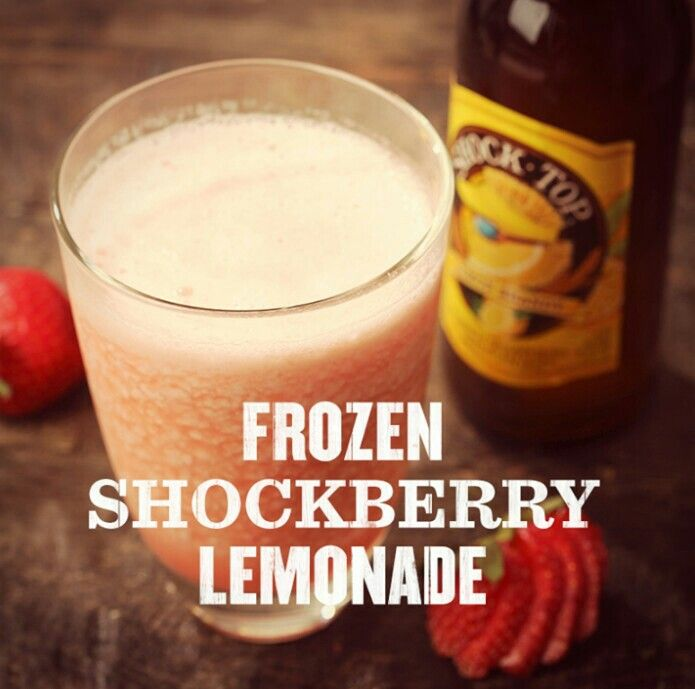 Not a big beer fan.... But strawberry and lemonade with it... I'd like to try that...