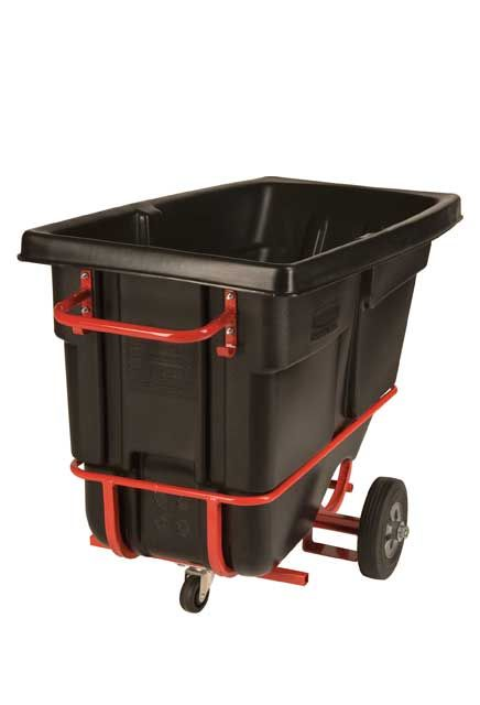 Chariot à bascule adaptable pour chariot élévateur 1/2 verge cube