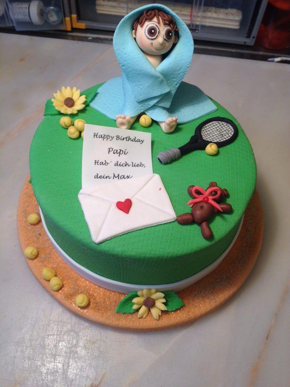 Zum Papa S Geburtstag Kuchen Geburtstagstorten Motivtorten
