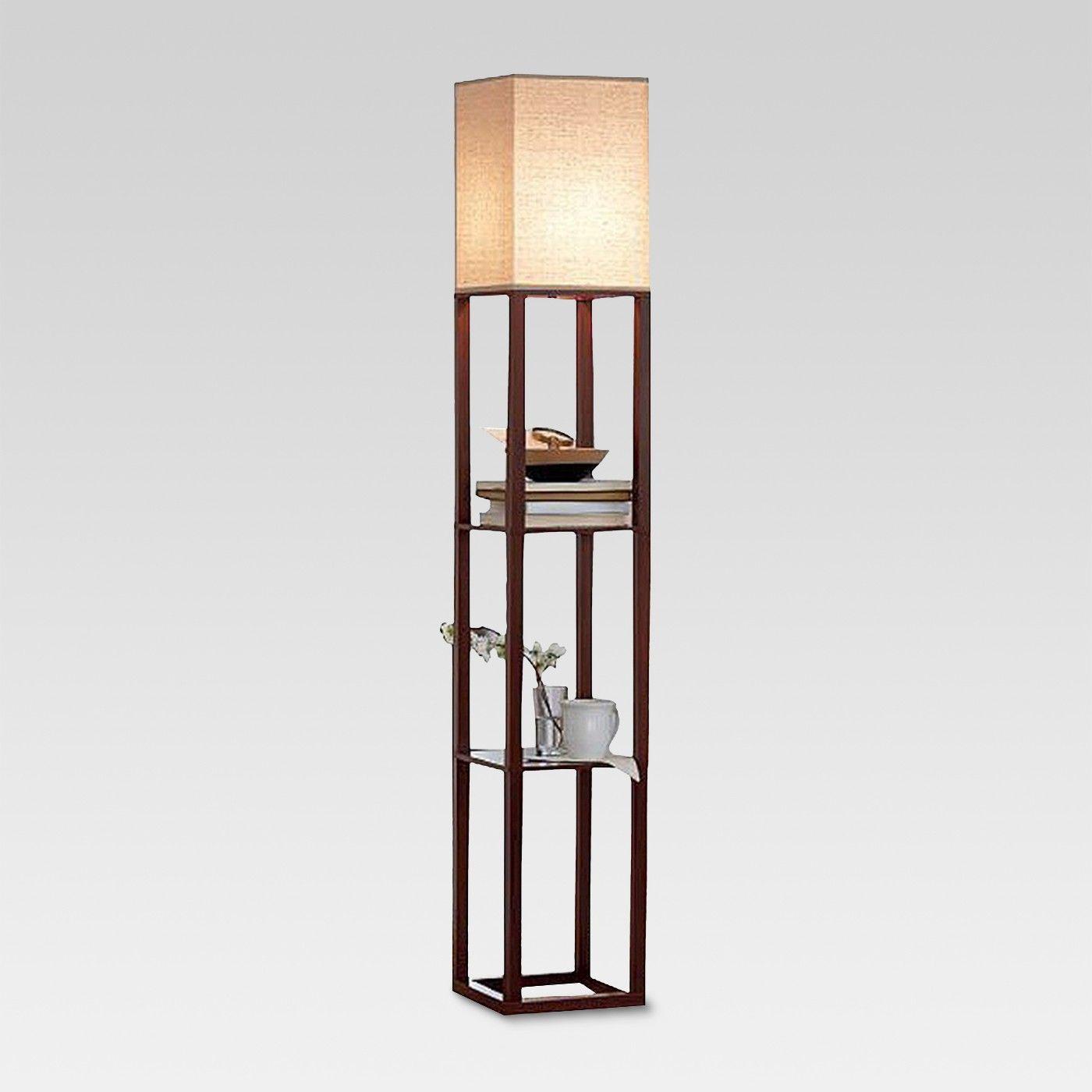 Shelf Floor Lamp Threshold™ Floor lamp with shelves