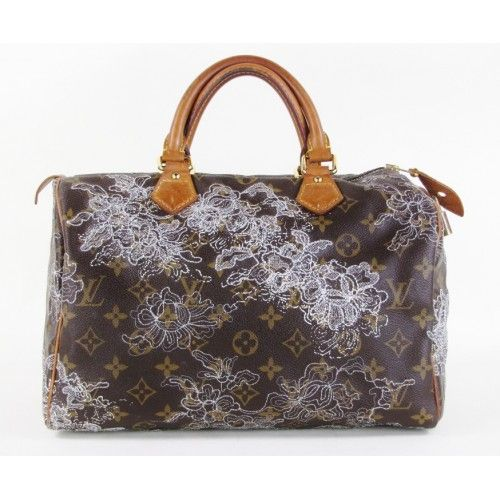 LV-LOVE! Louis Vuitton Monogram Limited Edition Dentelle Speedy 30 Bag   moshposh 2fb4aa5200534