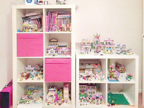 20 Lego Storage Ideas for Girls | Lego storage, Storage ideas and Lego