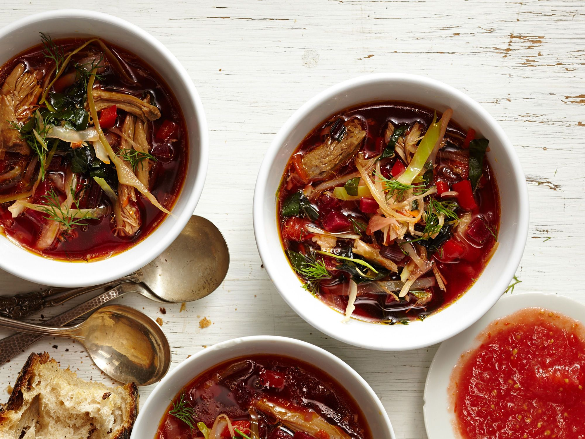 Winter dressings for soups and borscht: recipes 79
