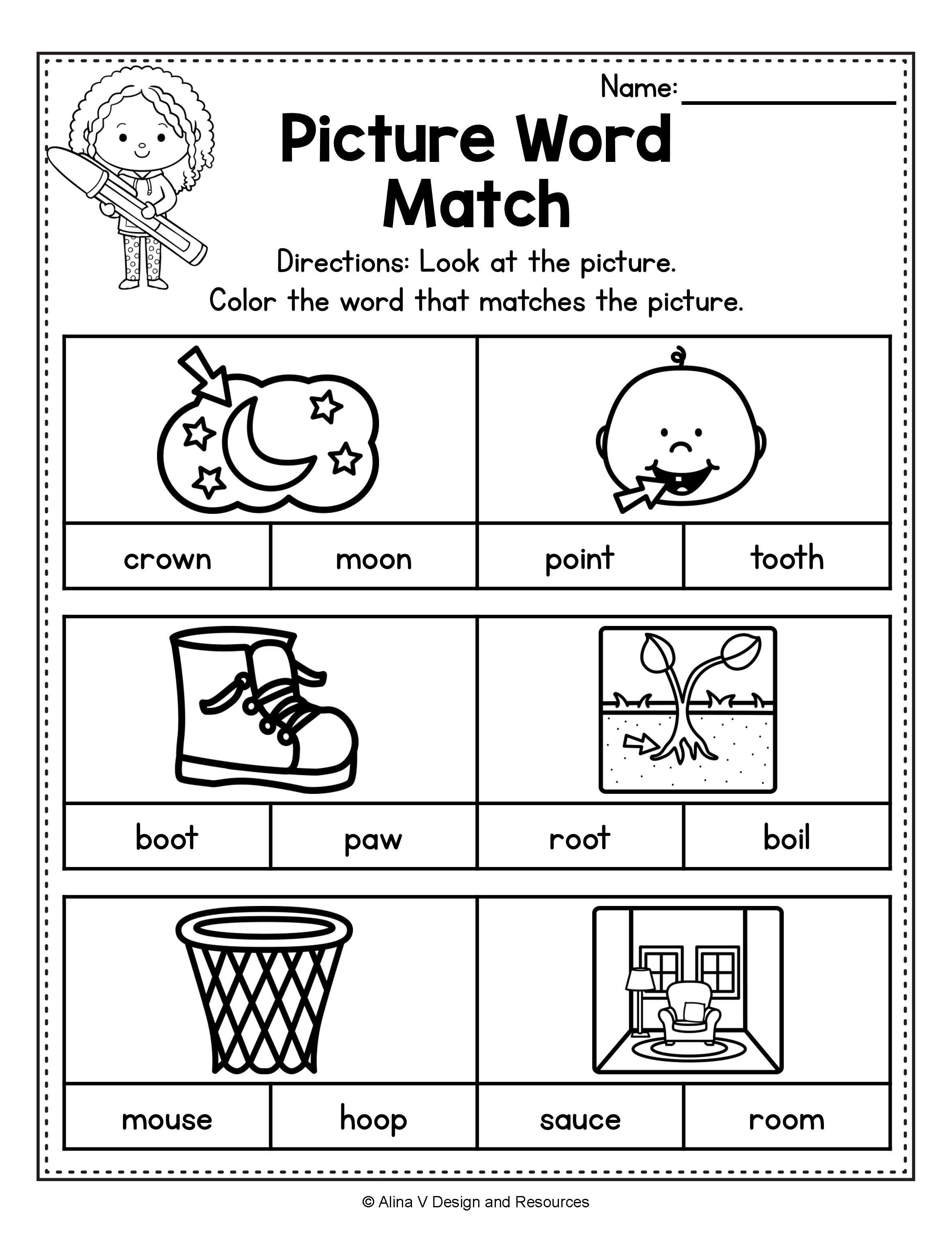 Diphthong Activities Bundle Diphthong Activities Vowel Diphthongs Worksheets In 2020 Phonics Activities 2nd Grade Activities Phonics Kindergarten