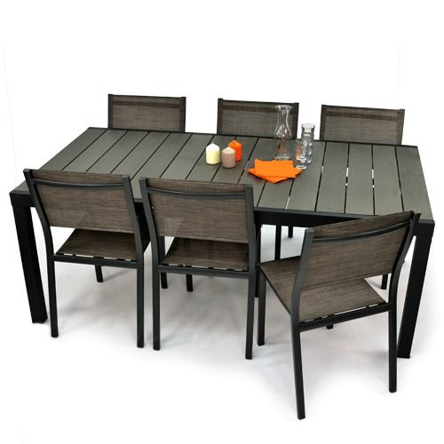 Superbe table de jardin ! | Jardin | Outdoor furniture sets ...