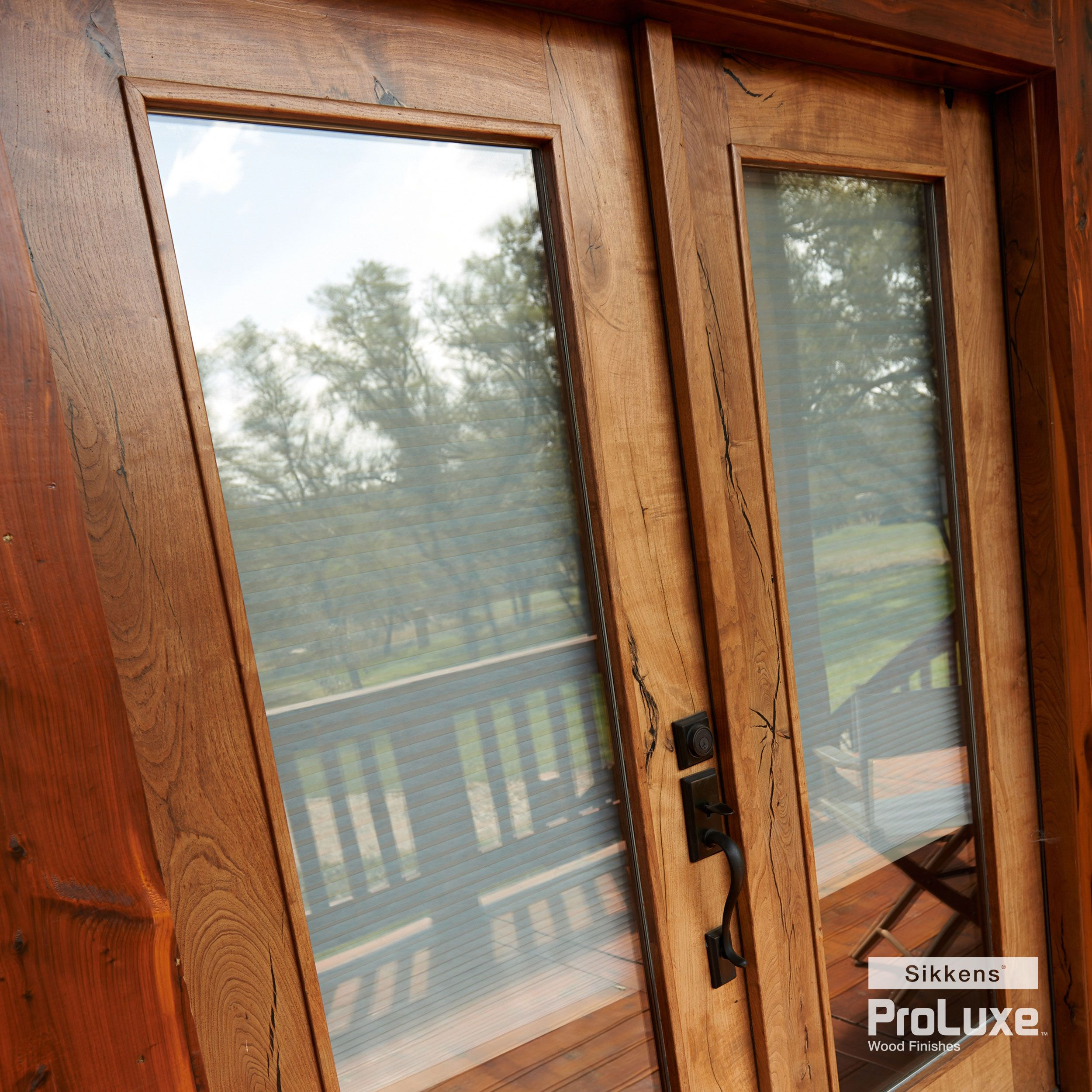 Wood Stain Finishes Sikkens Us Staining Wood Stained Doors Exterior Wood