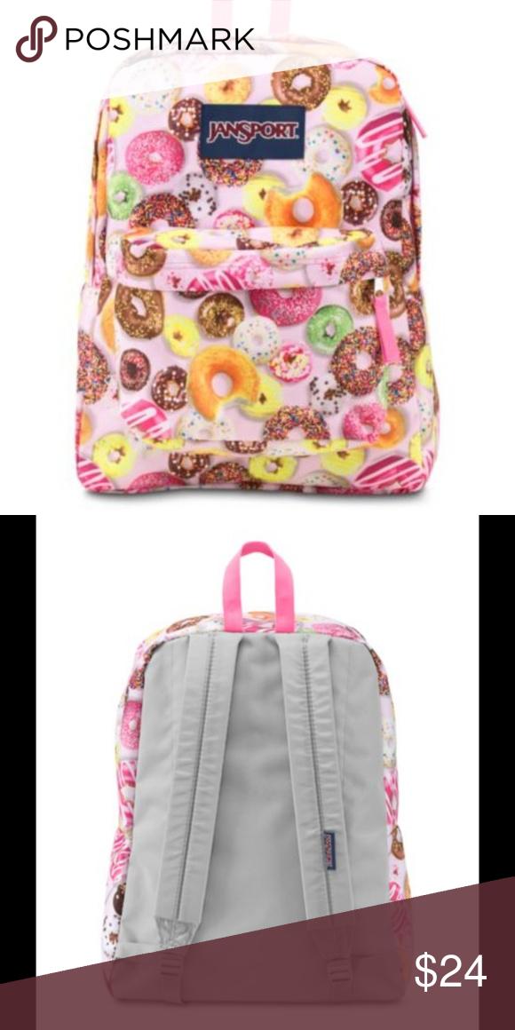 f415197557e7 Multi Donuts Jansport Backpack ECU CUTE!! OMG DONUTS!!!  ) JanSport ...