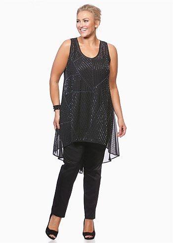 0cbd2ad8f1e686 Gossamer Tunic - Shop Plus Sizes