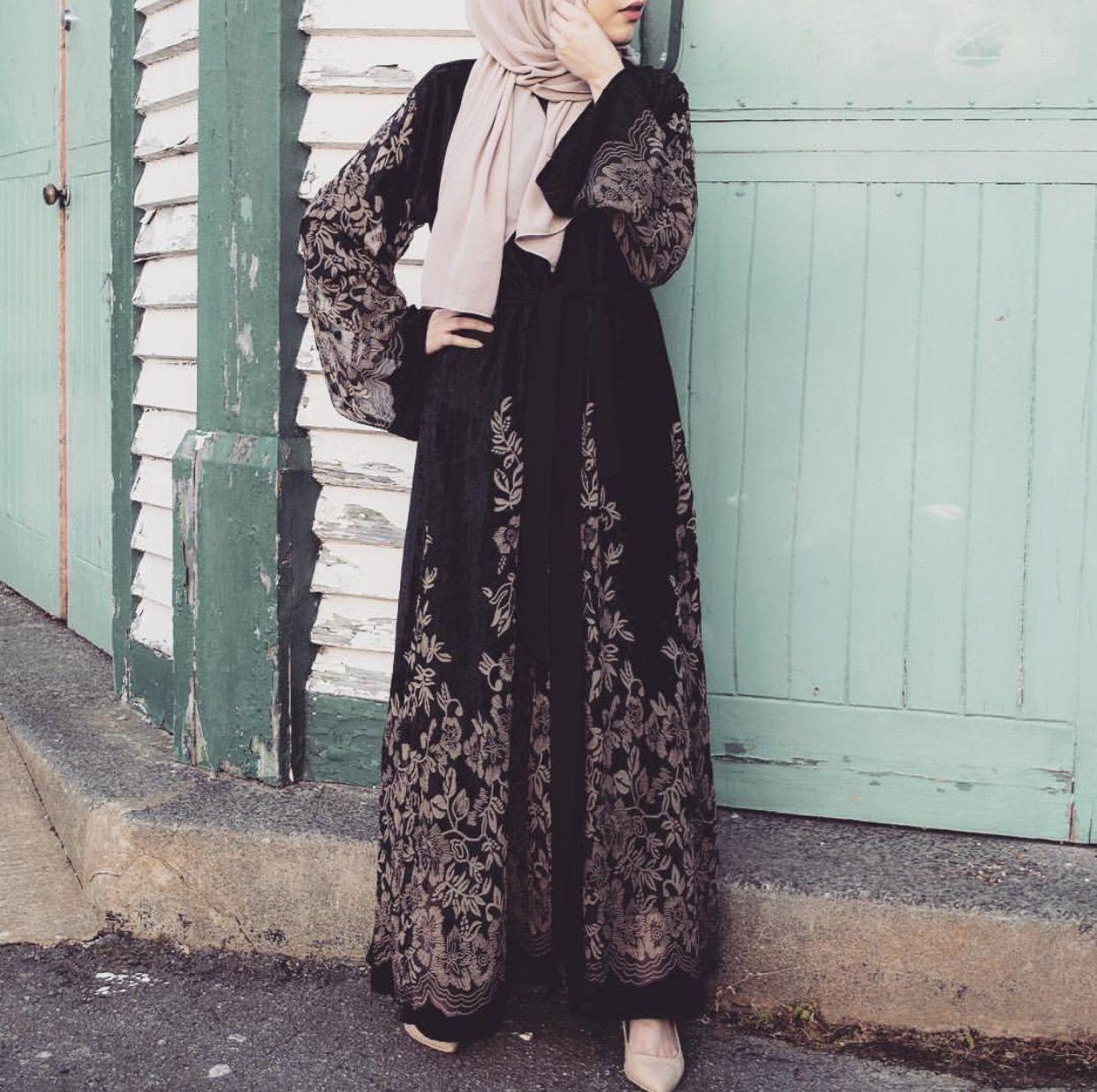 Pinterest Adarkurdish Abaya Fashion Muslim Fashion Hijab Fashion
