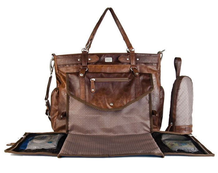 This is THE one!!!  Lady  Brown, MSN * more than a bag, a concept!  1 bag 3 possibilities:  diaper bag, purse, bag stroller.