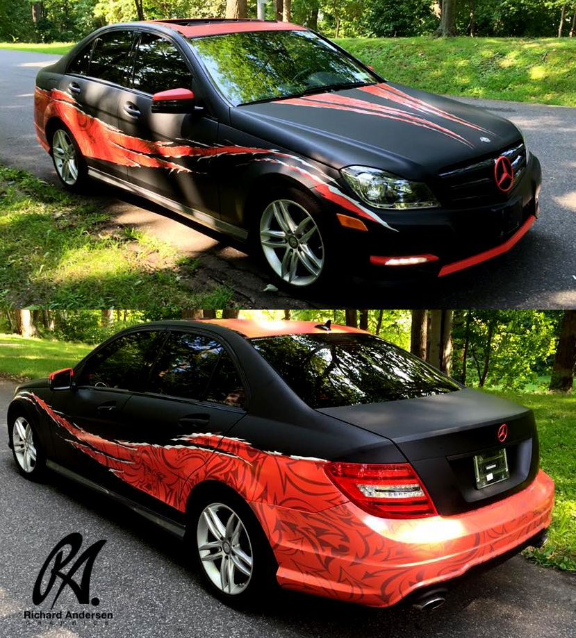 Pin by Lee Turner on Vehicle wraps | Car paint jobs, Car ...