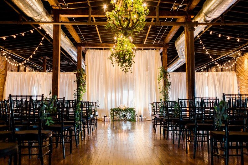 A GreeneryFilled Warehouse Wedding in Nashville
