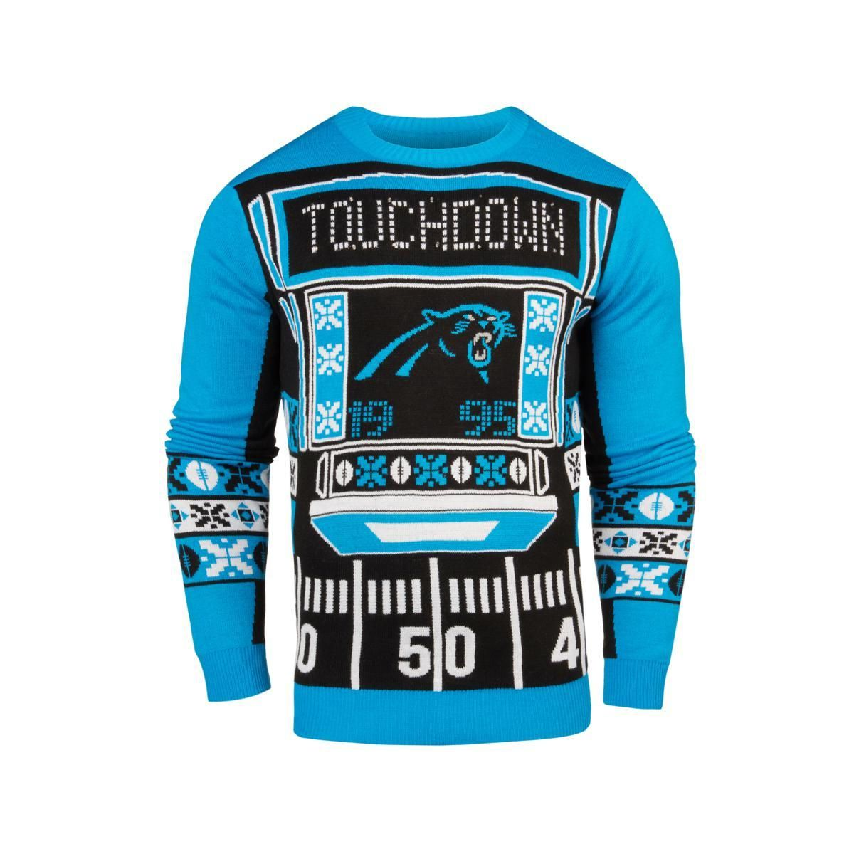 8bf226f84 Officially Licensed NFL Light-Up LED Ugly Sweater by Forever Collectibles  Jacksonville Jaguars