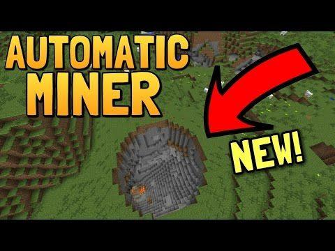 minecraft automatic miner