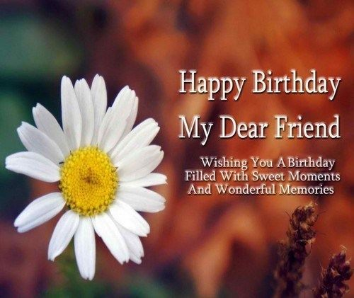 Happy Birthday My Friend