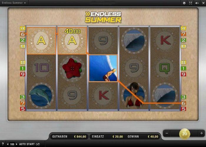 Endless Summer im Test (Merkur) - Casino Bonus Test