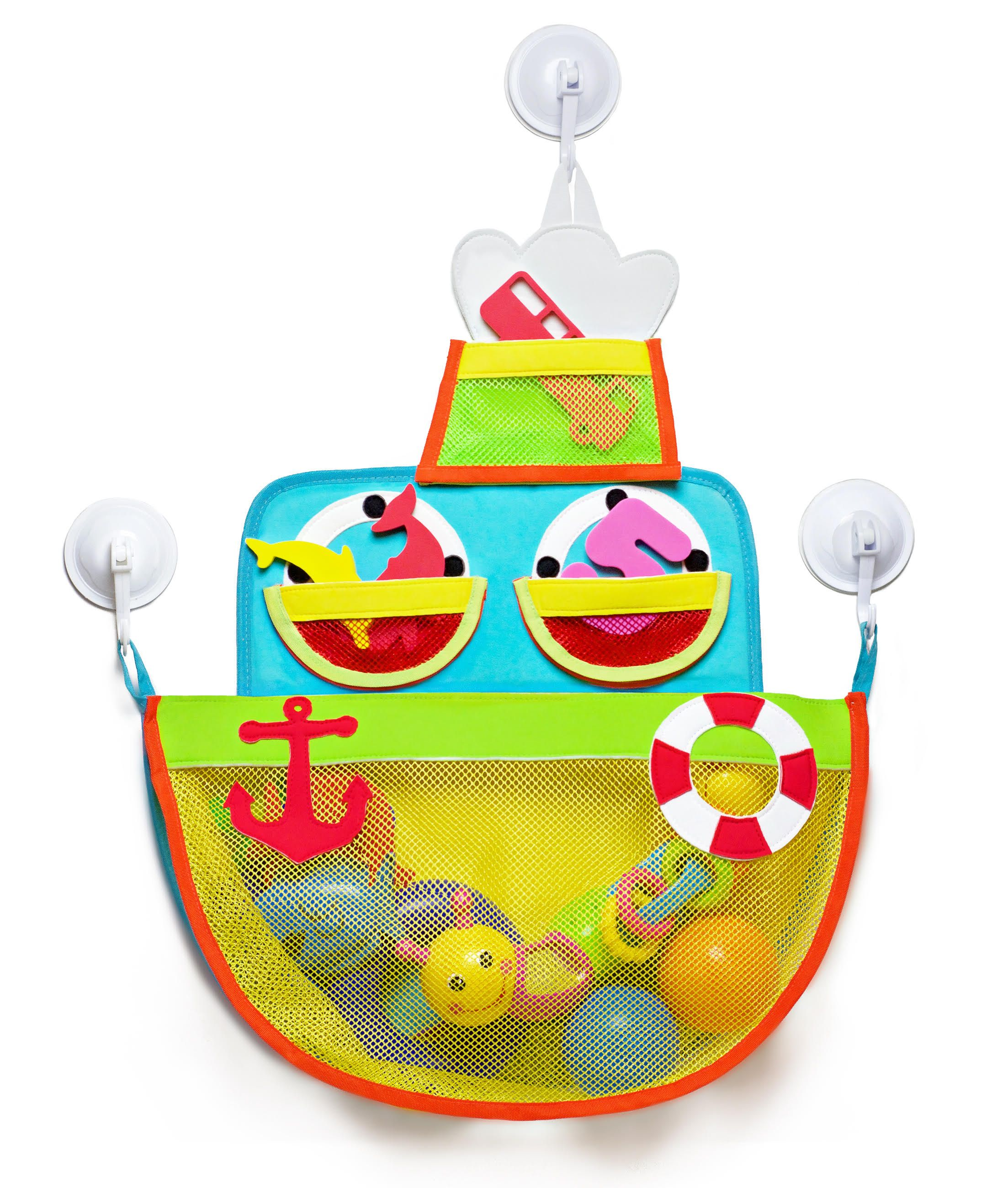 Ship Shape Bath Toy Organizer Bath Toy Storage for Kids
