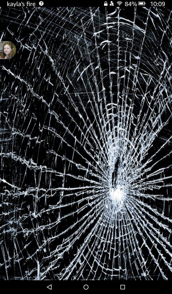 This Is What Happened To My Fire Tablet Broken Screen Wallpaper Broken Glass Wallpaper Cracked Screen
