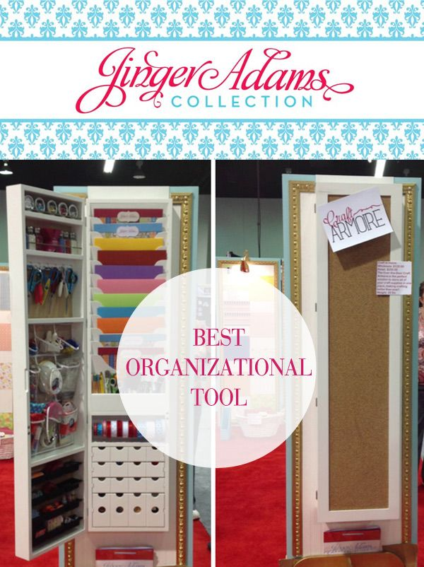 Nice 2013 CHA Best In Class: Best Organizational Tool The Jinger Adams Craft  Armoire May Be