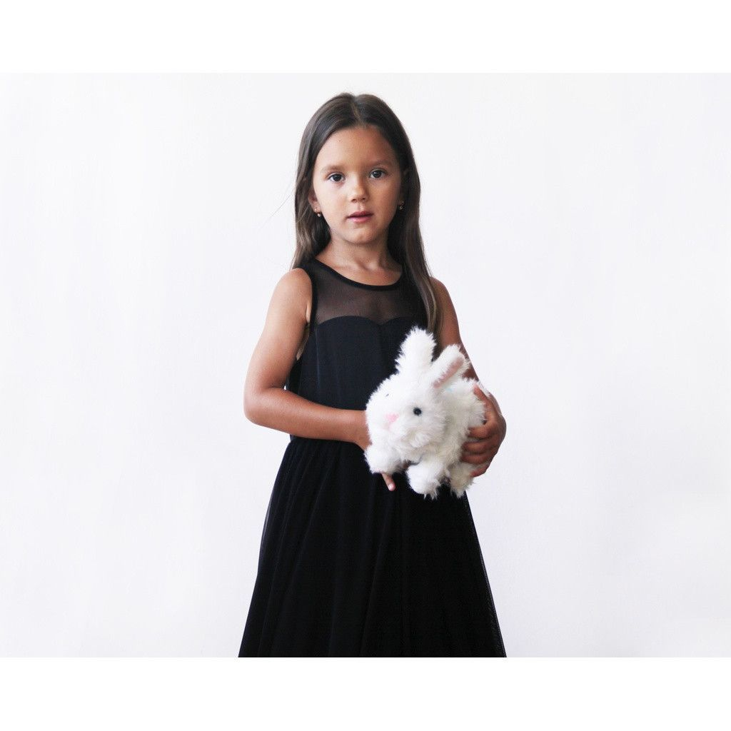 Sweetheart black flower girl dress shops boutiques and shopping