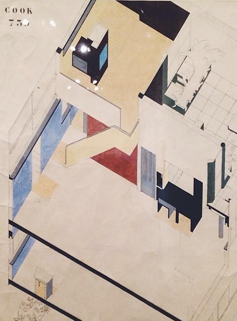 Villa Cook, Bolougne-Villancourt 1926-1927. #LeCorbusier