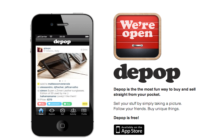 Depop A Social Shopping Mobile App For Ios And Android That Is Part Instagram Style And Part Ebay Marketplac Social Media Consultant Sell Your Stuff Tech News