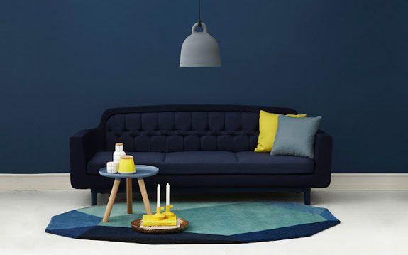 Gem rug for Normann Copenhagen  #gem #rug #Scandinavian design via http://nordicdesign.ca