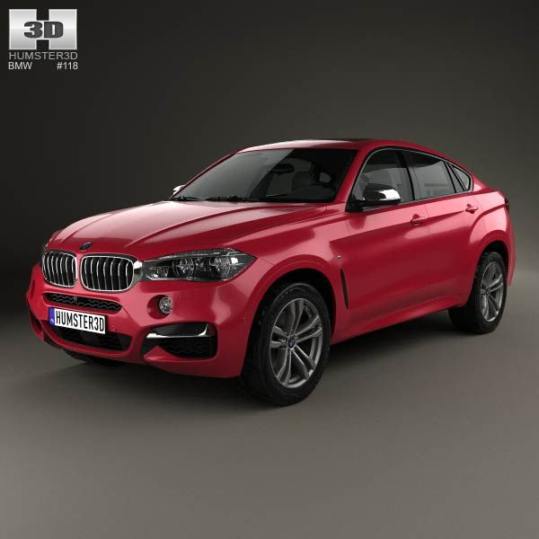 Bmw X6 Sport: BMW X6 (F16) M Sport Package 2014 3d Model From Humster3d