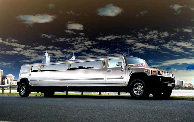 Silver Hummer Limo Hire Perth Limo Wedding Limo Service Hummer Limo