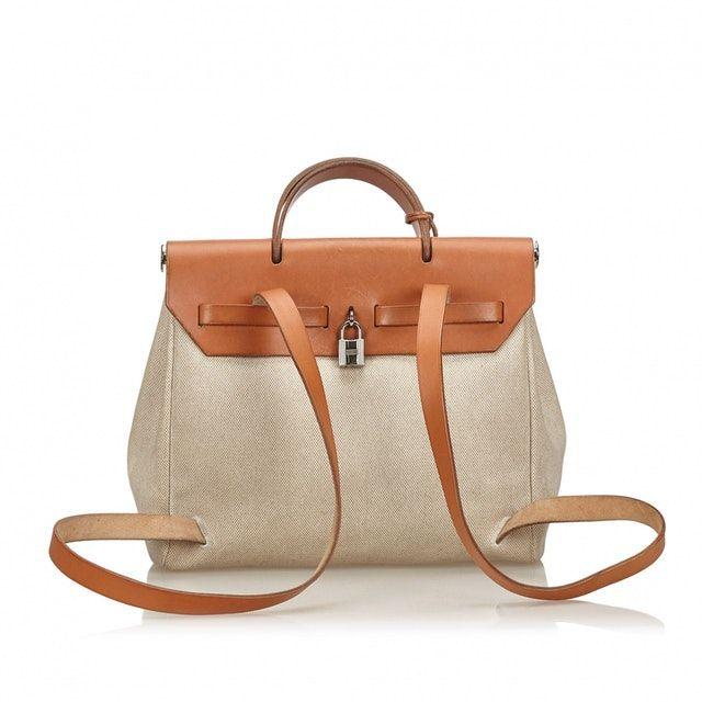 HERMÈS Herbag backpack Luxe handbags, Backpacks, Bags