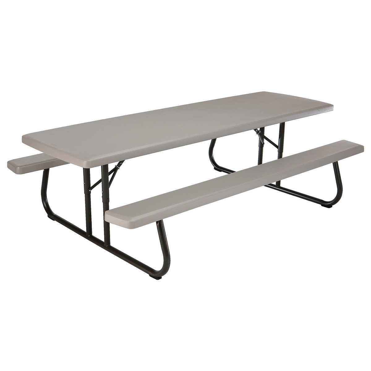 - Lifetime 8' Folding Picnic Table Folding Picnic Table, Picnic