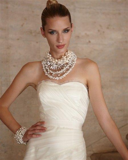 White House Black Market Wedding Dresses Pearls Pinterest