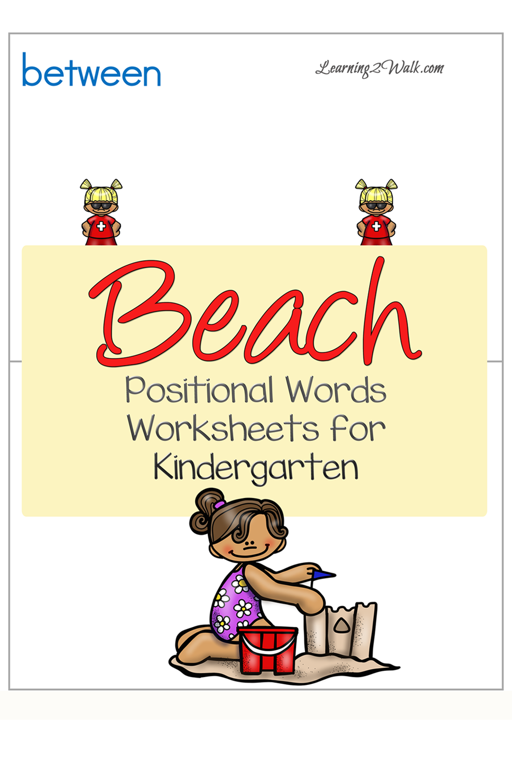 Beach Positional Words Worksheets For Kindergarten Kindergarten Worksheets Kids Learning Activities Free Printable Math Worksheets [ 1500 x 1000 Pixel ]