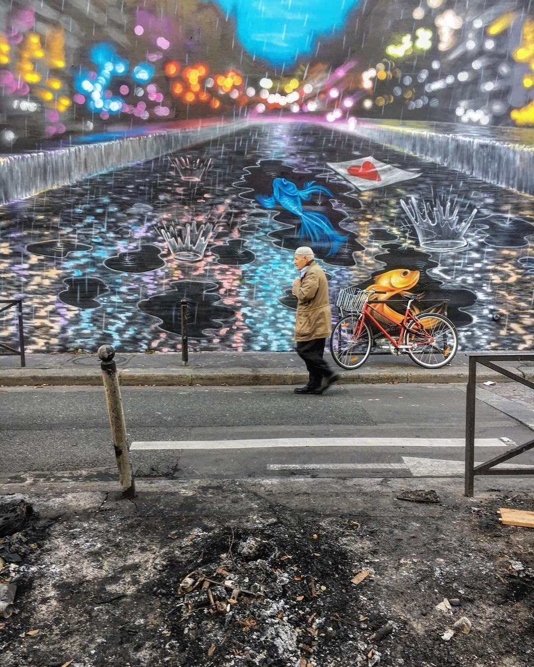 Plein feu sur Paris streetart . Light my fire paris10