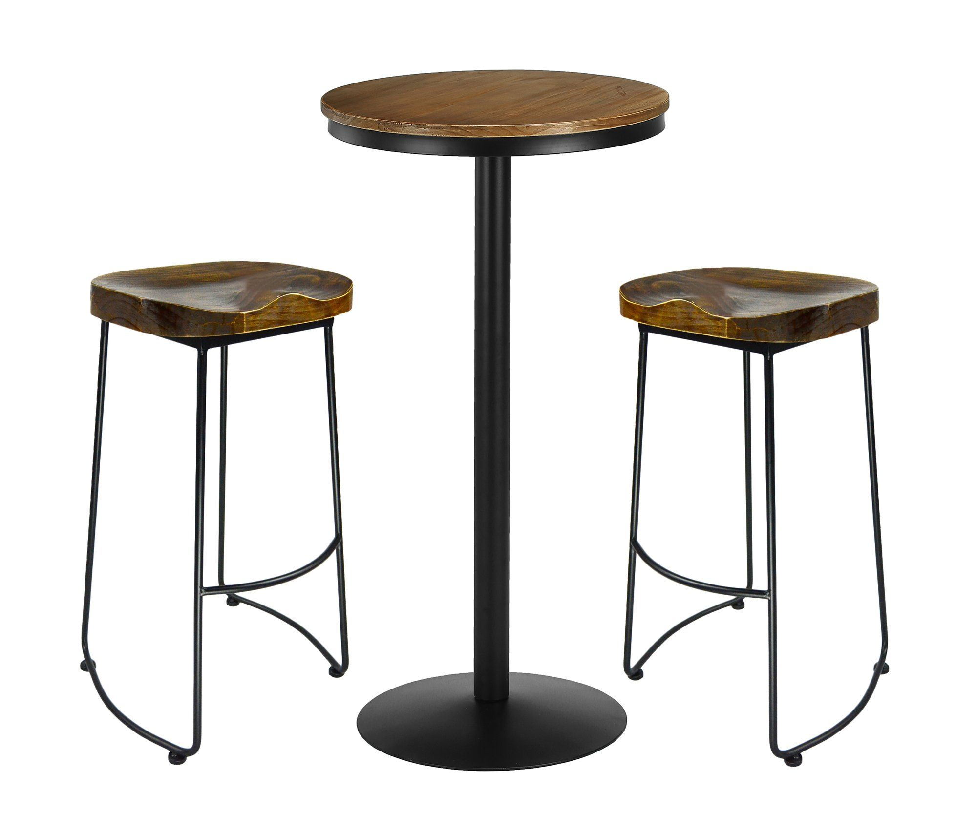 9d8017e0b4a2d VILAVITA 3 Piece Bar Table Set 41.5