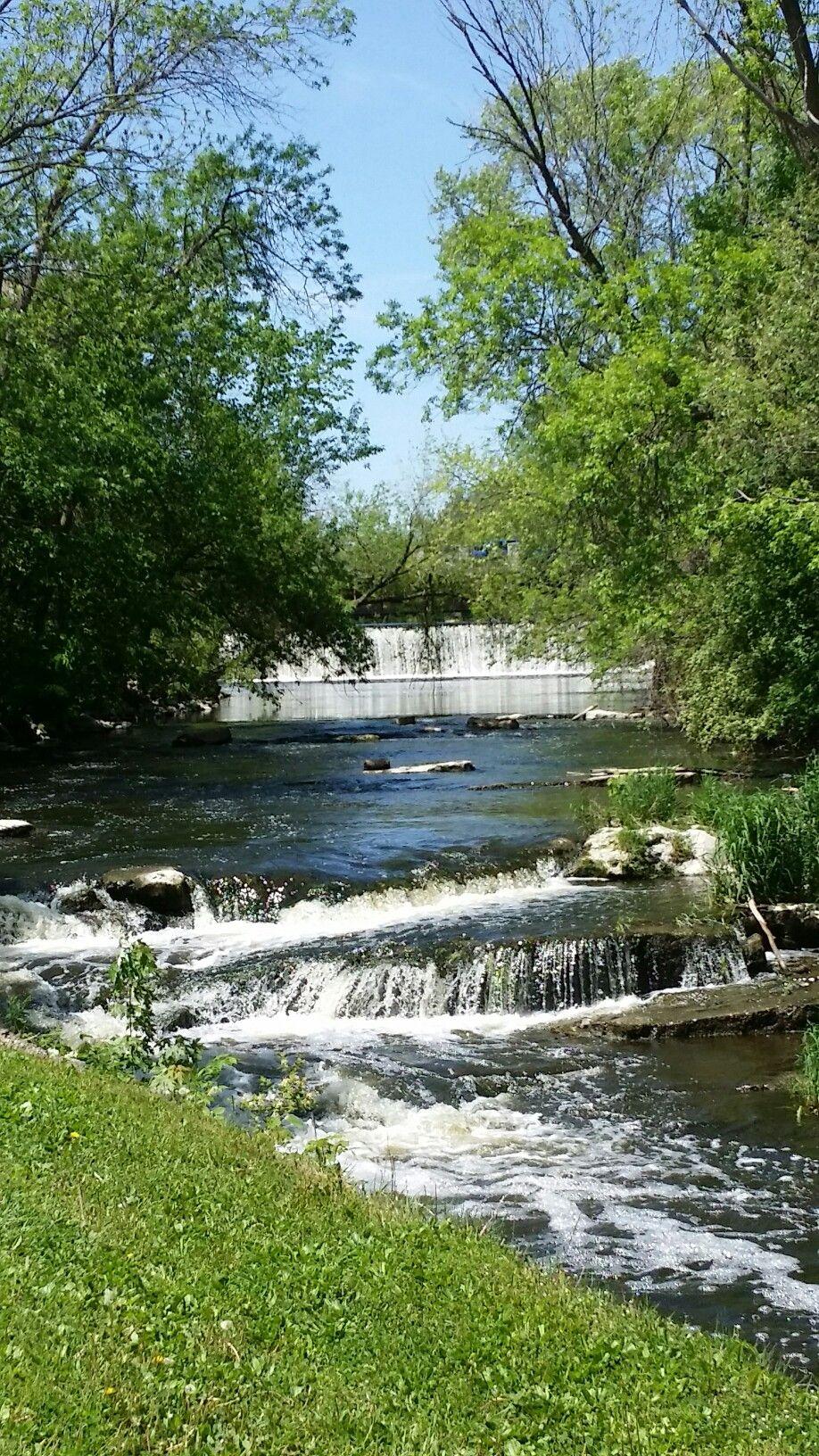 Cedar Creek Park in the City of Cedarburg, Wisconsin ...
