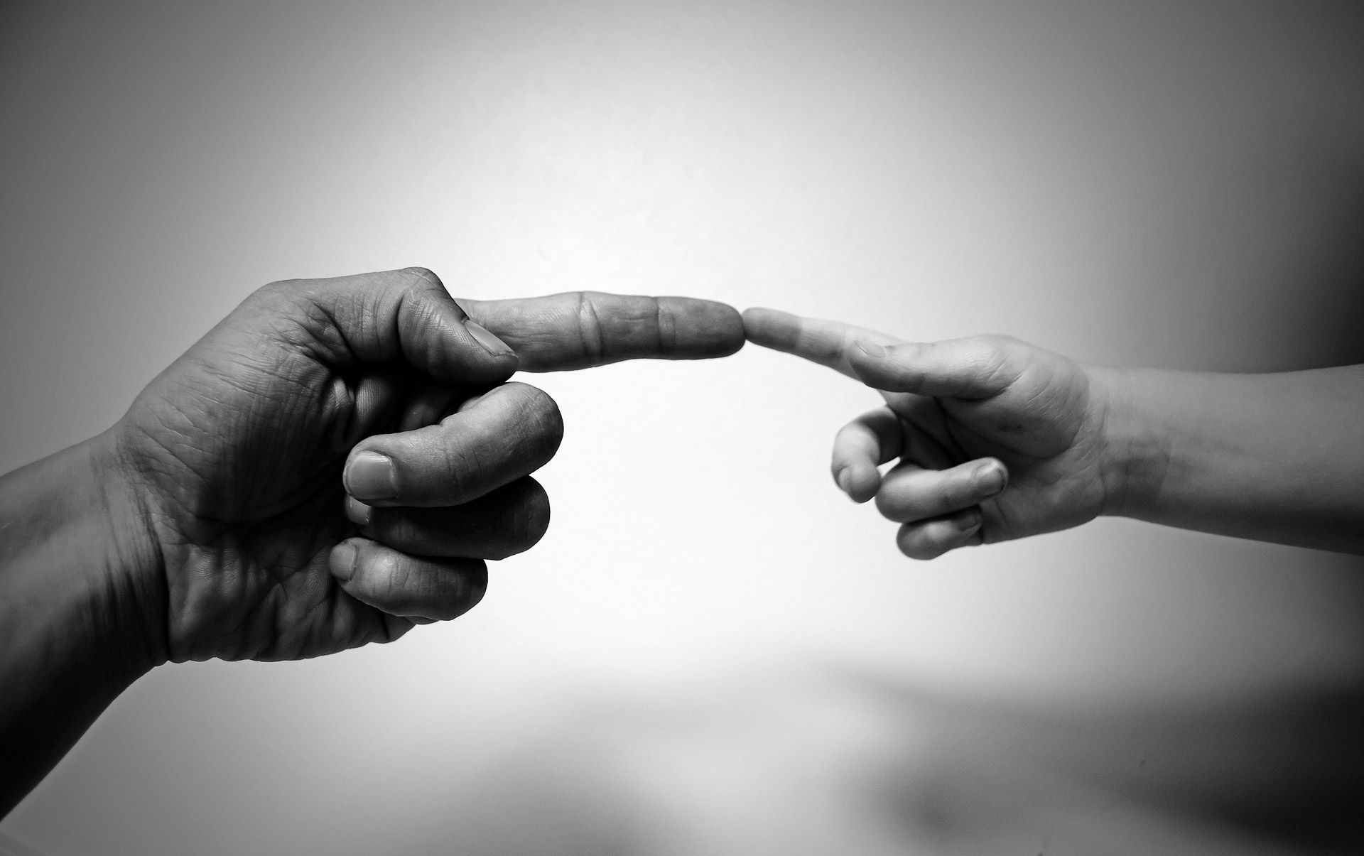 Image result for parent and child holding hands images grayscale