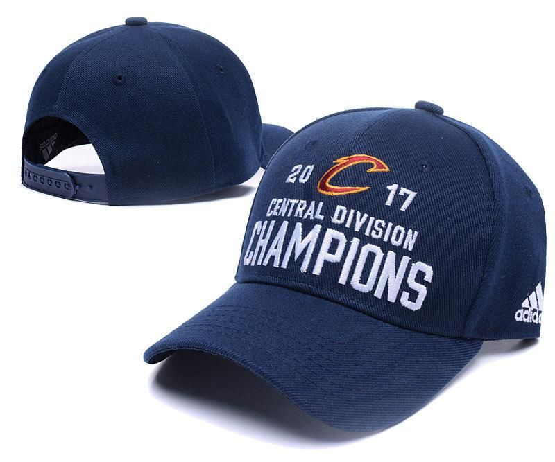 Men s   Women s Cleveland Cavaliers Adidas 2017 NBA Central Division  Champions Adjustable Hat ... e49587a675