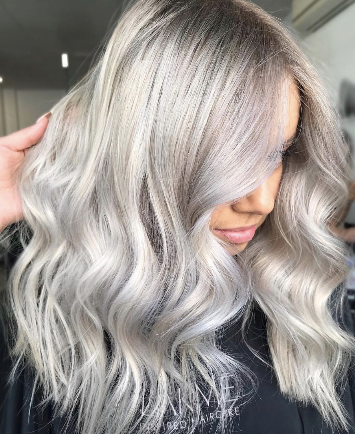 Beauty Beautyinthebag Hair Balayage Hair Silver Blonde Hair