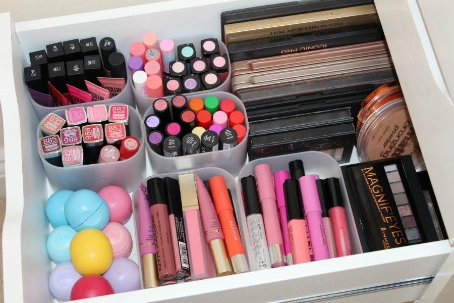 Make-Up Storage and Organization Ideas | Pink Paradise Beauty