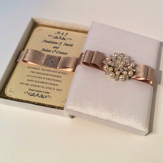 Invitation Box/Anniversary Invitation Box/ Wedding invitation box/ Quinceanera Invitation Box/ Birthday Invitation/Save the Date invitation