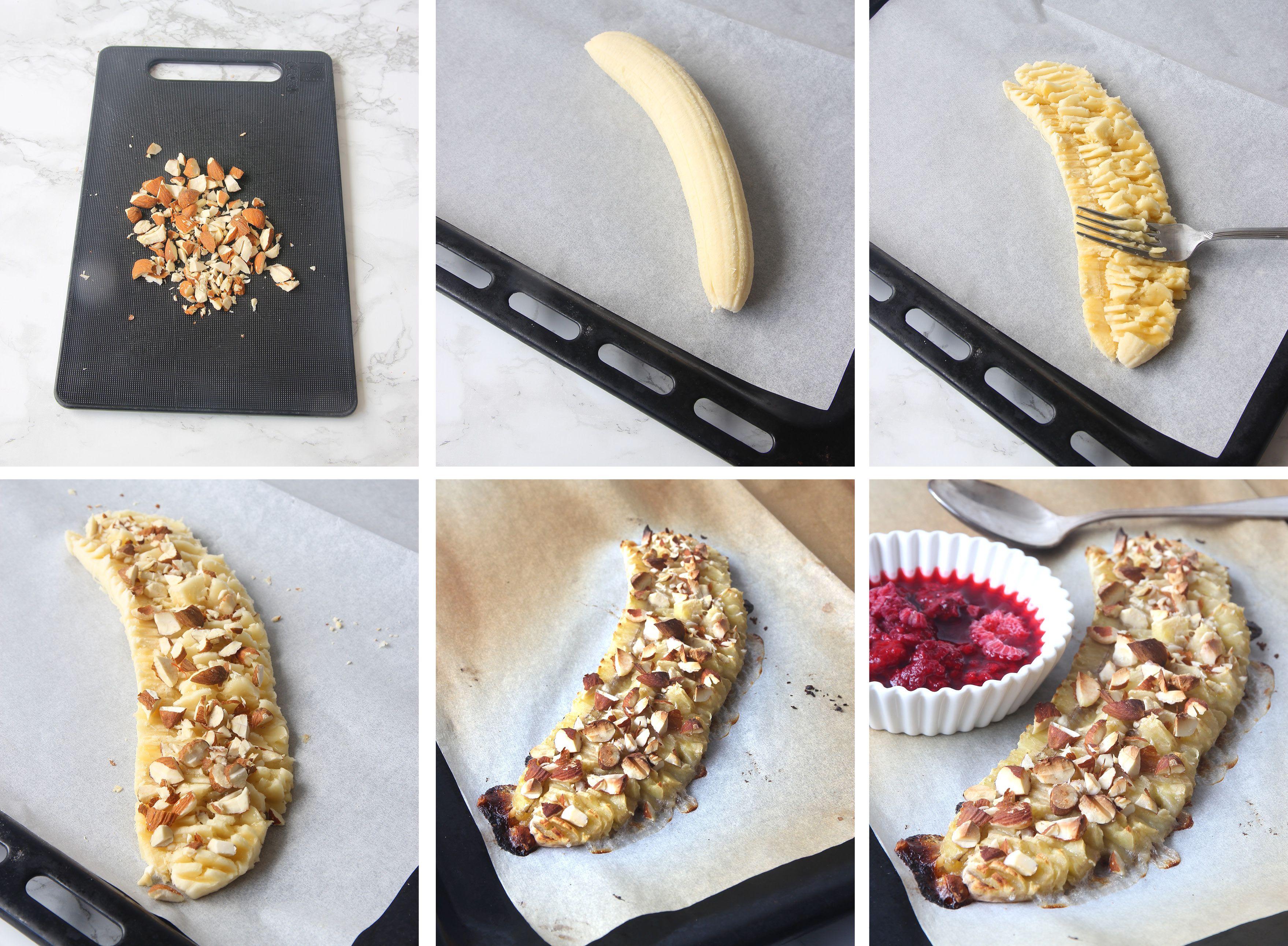 scones med banan