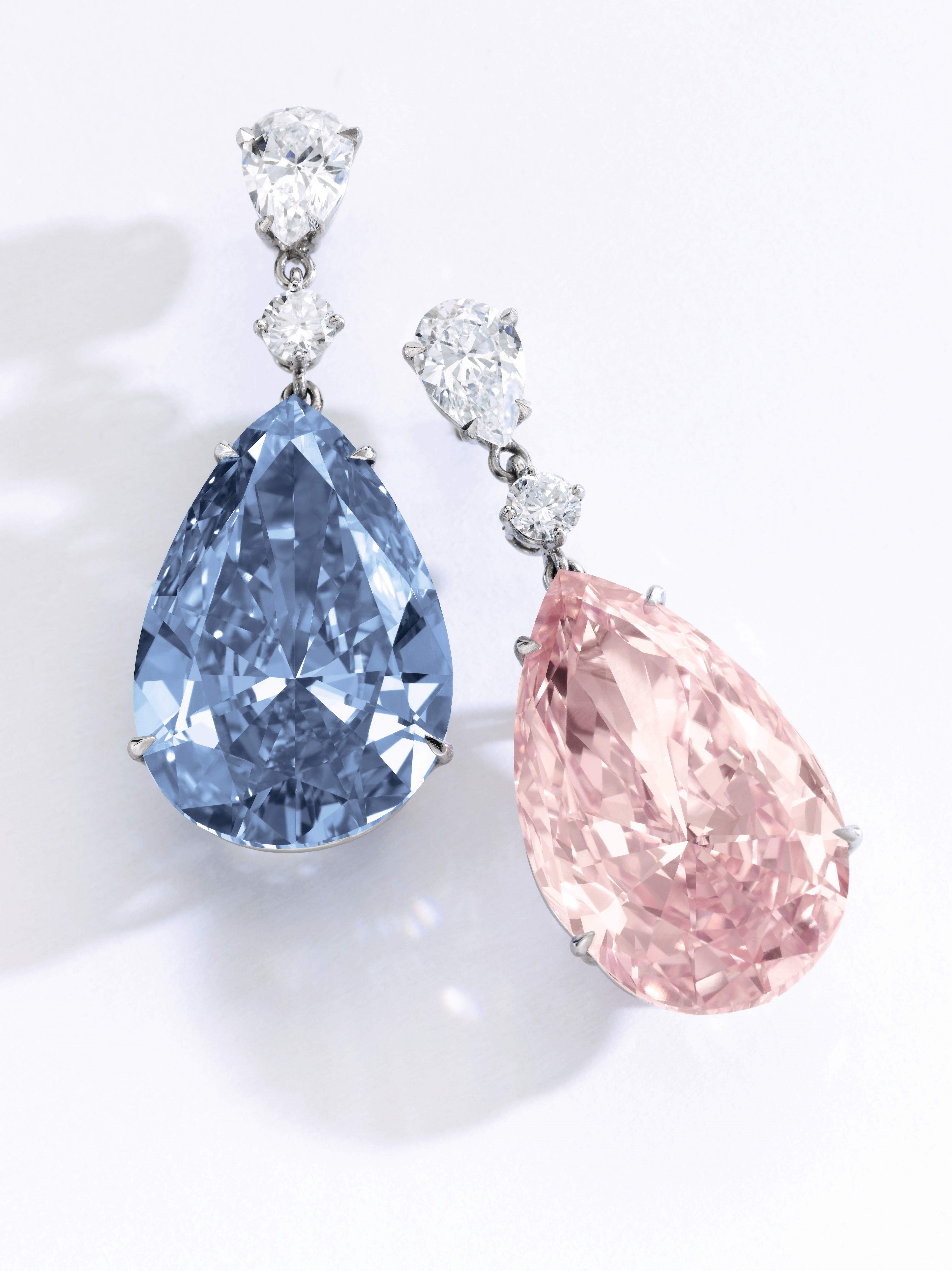 674014f1b Sothebys is auctioning off diamond earrings valued at over $50 million—see  them here.