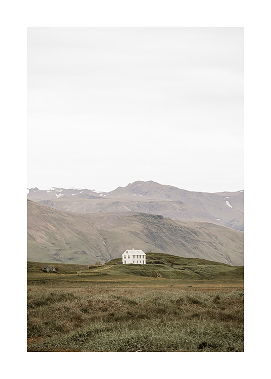Lonely House Poster With Images Country Wall Art Nature Prints Online Wall Art