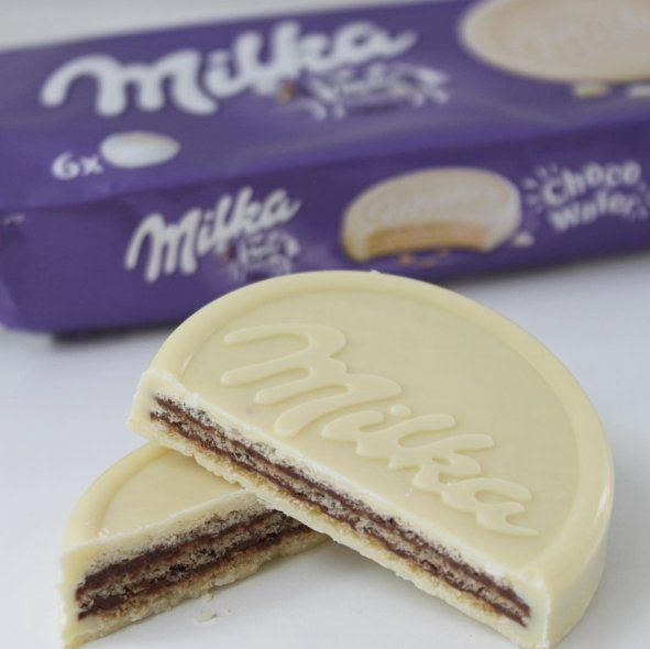Chocolate Covered Wafer моё портфолио картинок Milka