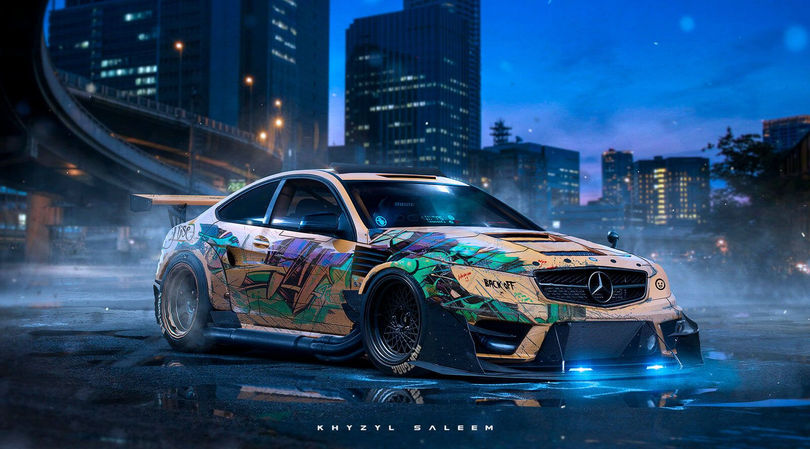 Pick The Most EyeCatching Paint Design Art For Your Car